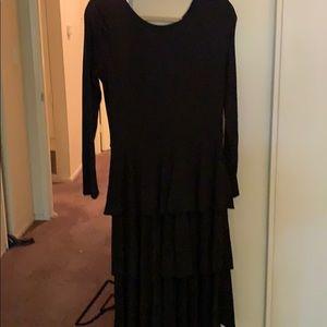 Lularoe Georgia Dress Size Large Gently Used